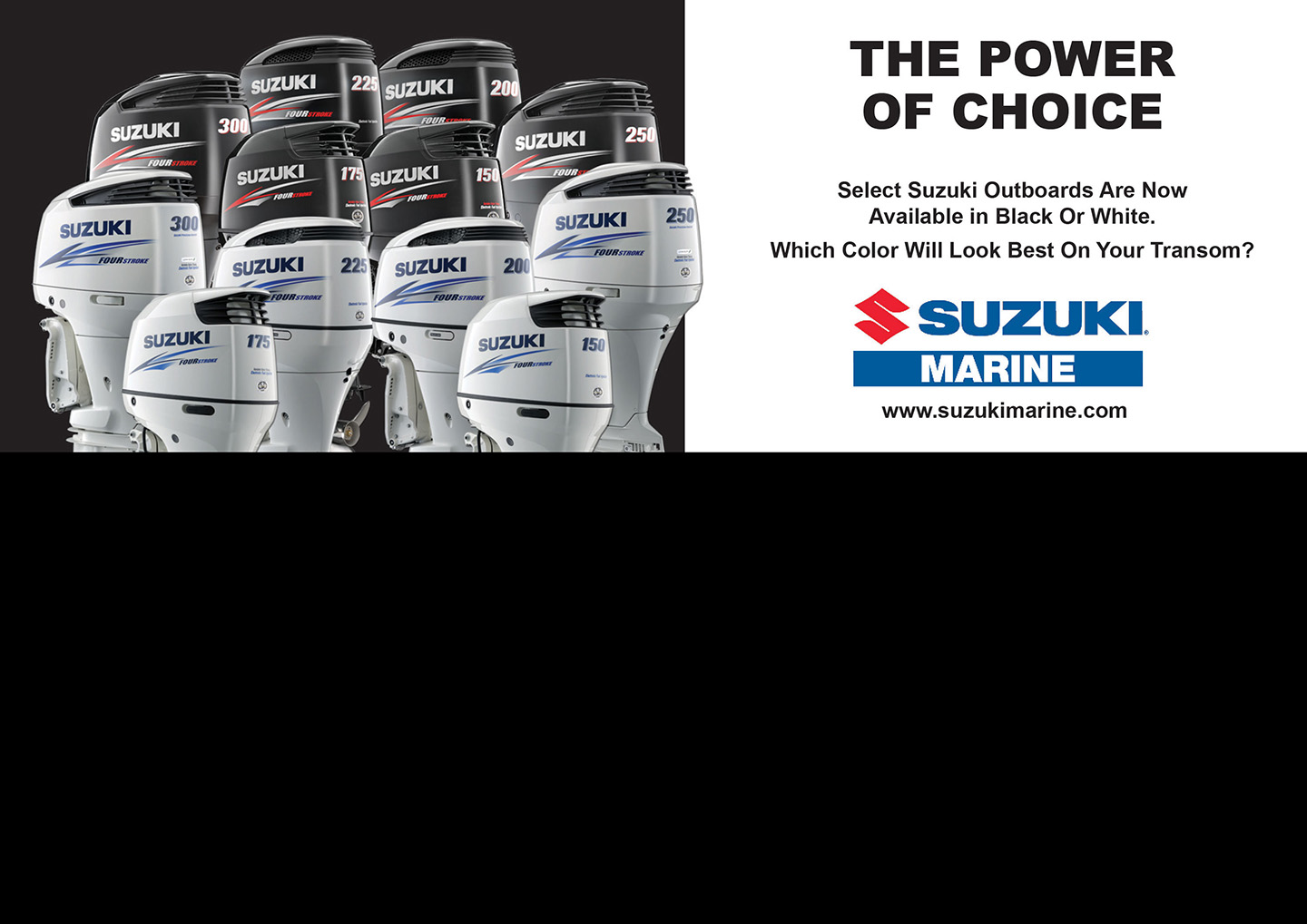Suzuki Outboard Motor Power Of Choice