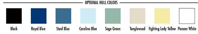 Pioneer Hull Colors