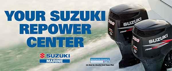 Suzuki Outboard Motor Repower Banner